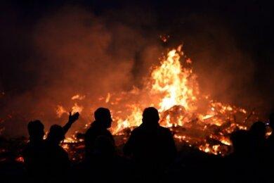 Auf Hexenfeuer müssen Erzgebirger in diesem Jahr verzichten.