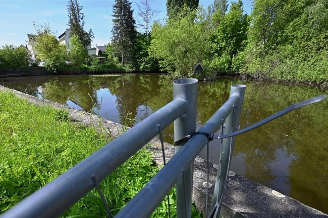 Der Löschwasserteich an der Untere Hauptstraße in Mühlau soll saniert werden. Allerdings muss die Gemeinde dafür nun tiefer in die Tasche greifen als es bisher geplant war.
