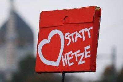 """Politprominenz bei Kundgebung """"Herz statt Hetze"""" in Chemnitz erwartet"""