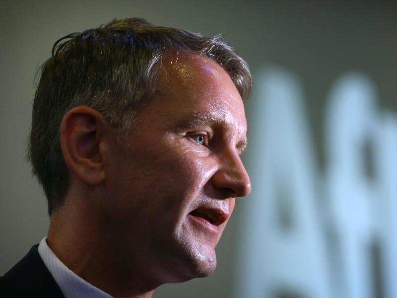 Björn Höcke, Thüringer AfD-Landeschef, will beim «Schweigemarsch» in Chemnitz vor Ort sein.