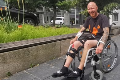 """""""Allen Helfern vielen Dank! Ihr seid fantastisch."""" Das ist die von Ralf Wiegand aus dem Helios-Klinikum in Plauen gesendete Message."""