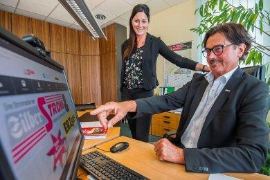 Die Stadtwerke haben sich dank Gunar Friedrich zu mehr als einem Energieversorger in der Bergstadt entwickelt. Ab Donnerstag ist Janice Kaiser die neue Geschäftsführerin.