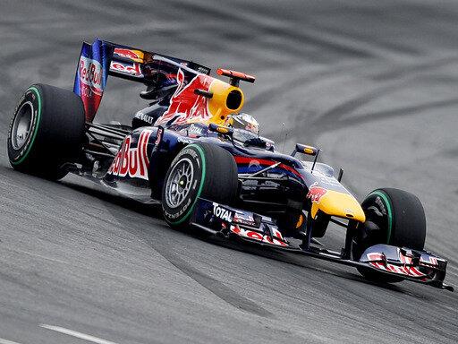 Sebastian Vettel im Pech