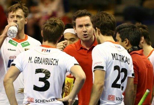 Bundestrainer Kermas (Mitte) hat seinen Kader nominiert
