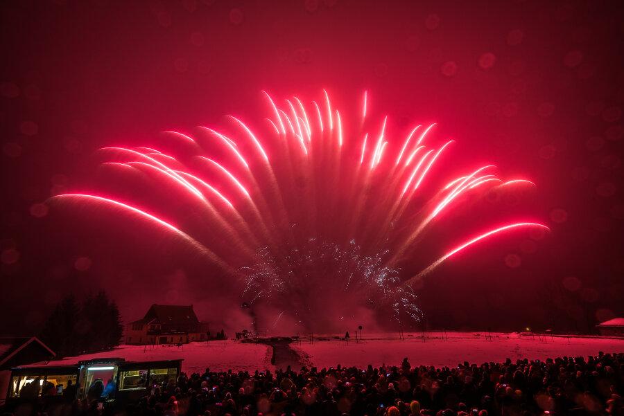 Pyroshow zeigt die neuen Trends am Silvesterhimmel