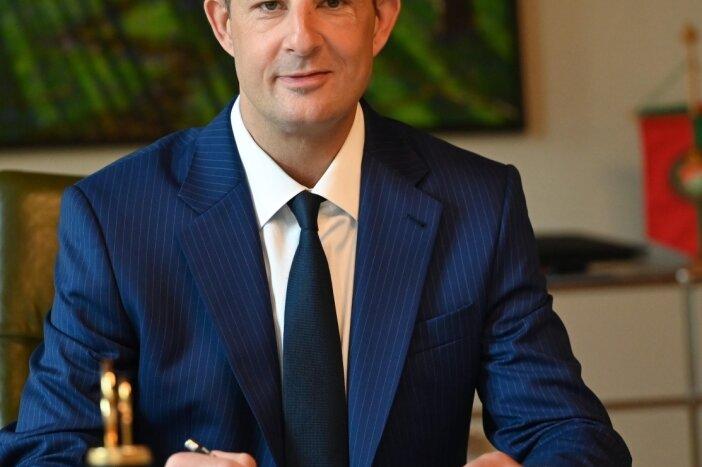 Der amtierende Limbach Oberfrohnaer Oberbürgermeister, Jesko Vogel, will nächstes Jahr für eine zweite Amtszeit kandidieren.