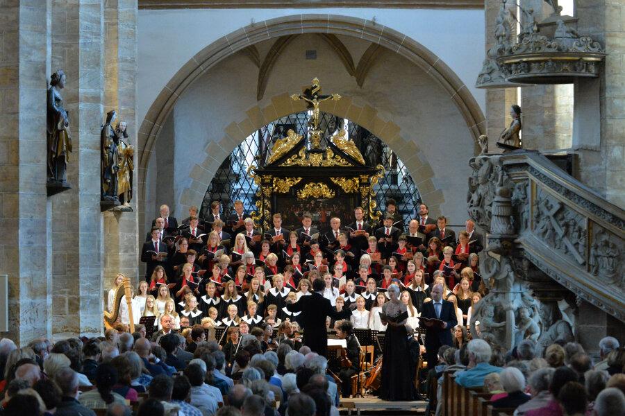 Gänsehaut-Feeling beim Abschlusskonzert im Freiberger Dom