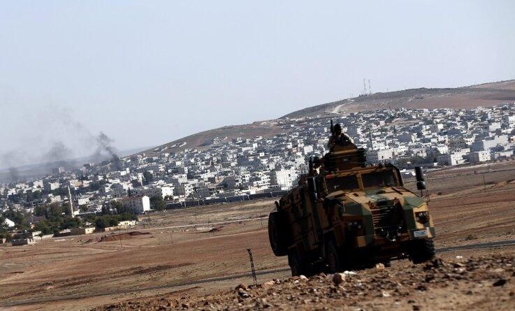Die Türkei: Sie schaute zu, als der IS die syrisch-kurdische Stadt Kobane angriff - die Flüchtlinge nutzt sie für politische Zwecke.