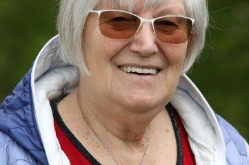 Elke-Gudrun Heber (76), Ortschaftsrätin in Wernsdorf.