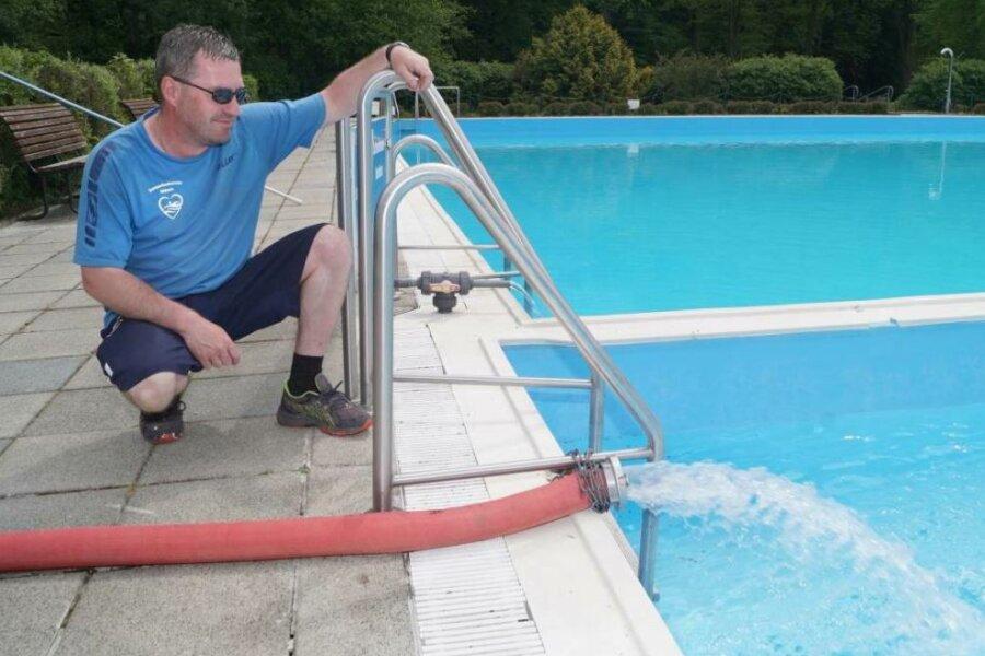 Das Sommerbad in Niclas öffnet ab Montag - vorausgesetzt, es herrscht Badewetter.
