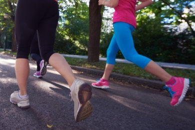 Je näher das Ziel kommt, umso schwerer werden die Beine. Wer hat das bessere Ende für sich?