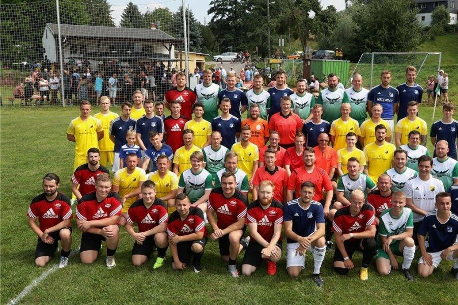Beim Fußball-Benefizturnier in Wernsdorf vor genau einem Monat sind letztlich 6500 Euro für Flutopfer eingespielt worden.