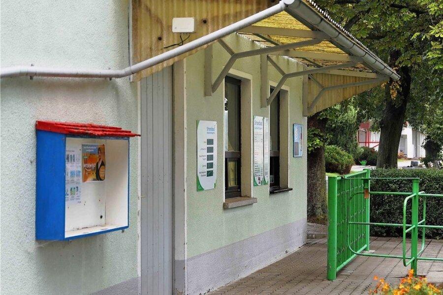Der Eingangsbereich zum Strandbad an der Koberbachtalsperre wird baulich verändert.