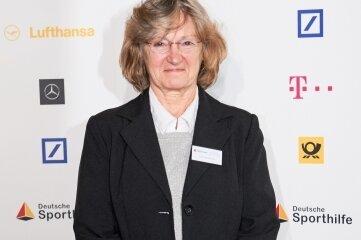 Kristina Richter bei der Aufnahme in die Hall of Fame im Jahr 2016.