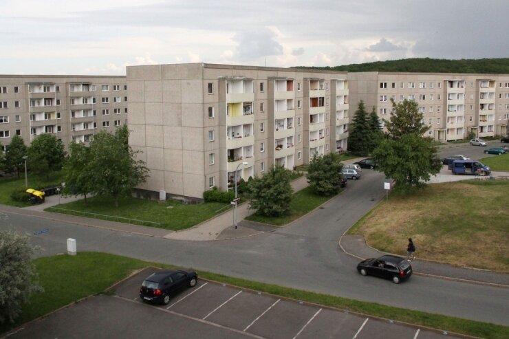 """<p class=""""artikelinhalt"""">Dunkle Gewitterwolken über dem Wohngebiet Sorge: Der totale Abriss der Plattenbauhäuser bis zum Jahr 2017 gerät zunehmend unter Kritik. 2008 hat der Werdauer Stadtrat diese Vorgehensweise beschlossen. </p>"""