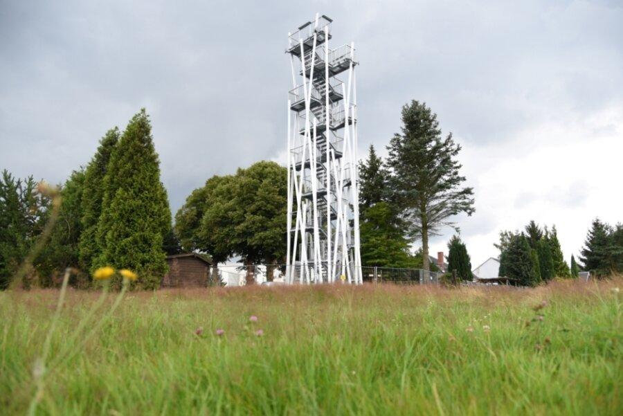 Neuer Aussichtsturm in Remtengrün wird am 5. September eingeweiht