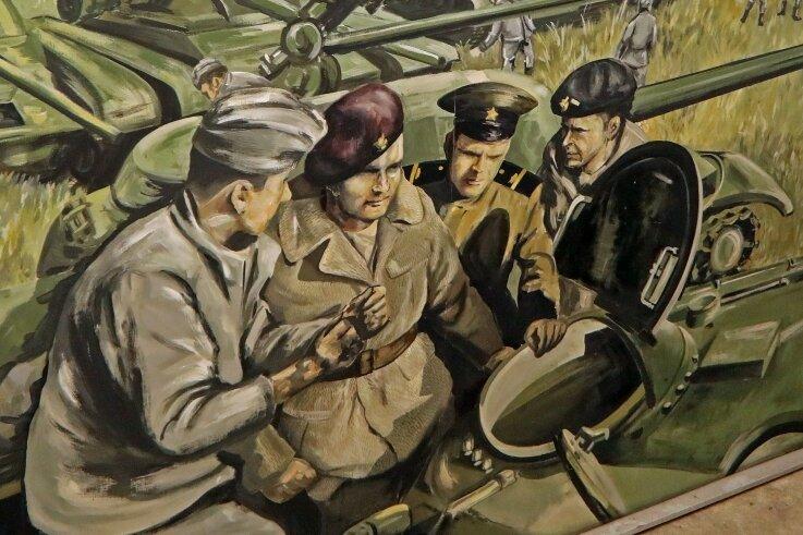 Dieses Gemälde wird nach Dresden verschenkt.
