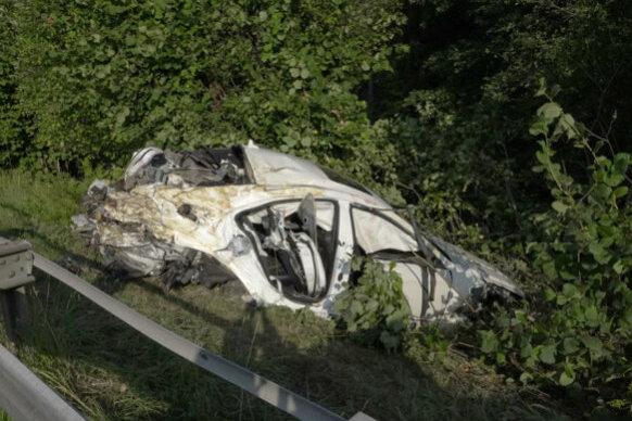 Nach tödlichem Unfall: Strecke bei Siebenlehn unauffällig