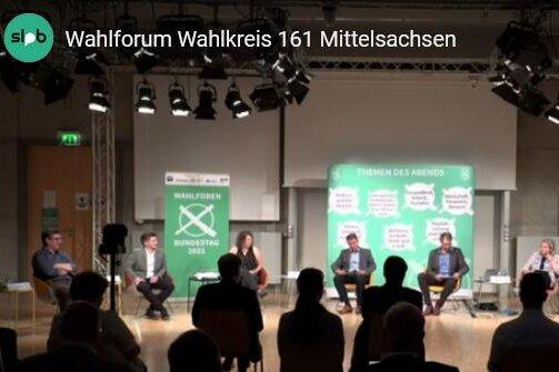 Livestream: Wahlforum mit den Kandidaten für Mittelsachsen