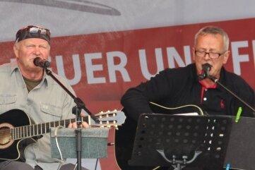 Das Duo Gerd & Joe ist heute online zu erleben.