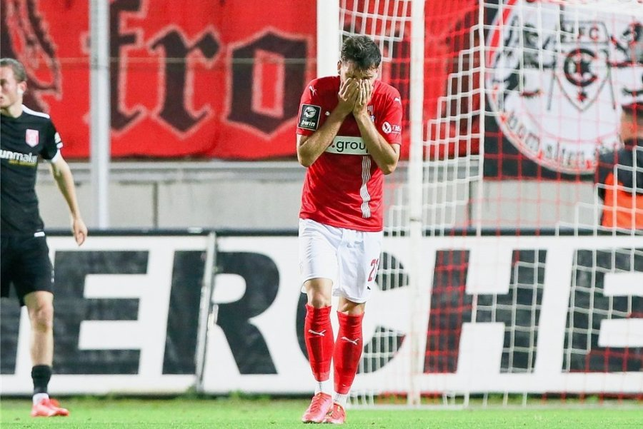 Marco Schikora erzielte bereits sein drittes Saisontor für den FSV Zwickau. Zum Sieg reichte es aber erneut nicht.