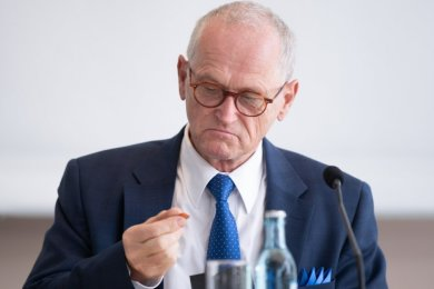 Seit März im sächsischen Rechnungshof tätig, seit Mai 2010 als dessen Präsident: Karl-Heinz Binus wird am Dienstag feierlich in den Ruhestand verabschiedet.
