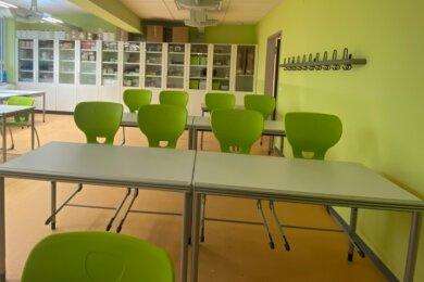 Zweckmäßig, farbenfroh, hell: So präsentiert sich der Schulanbau seinen Nutzern.