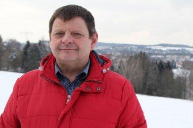 Veit Bursian schätzt an Rotschau auch den schönen Blick vom Kareliaweg zur Göltzschtalbrücke.