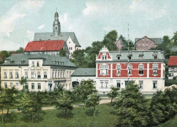 Ansichtskarte von 1906.