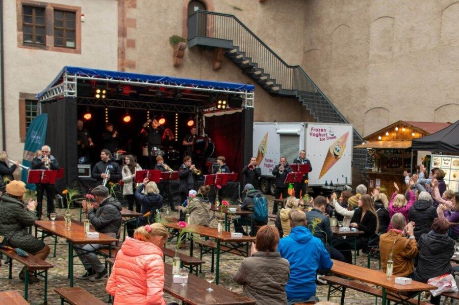 Für Weinfest auf Schloss Rochlitz soll es eine Neuauflage geben