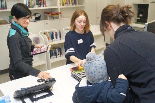 Stadtbibliothek Zwickau: Es gibt technische Probleme
