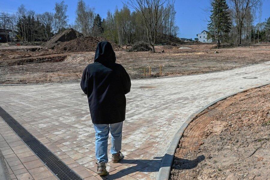 In dem neuen Baugebiet an der Lichtenauer Straße sollen etwa 18 Eigenheime entstehen. Zunächst benötigt jedoch die Straße, die die Wohnanlage erschließt, einen Namen. Damit erhalten die Anlieger auch eine Adresse.