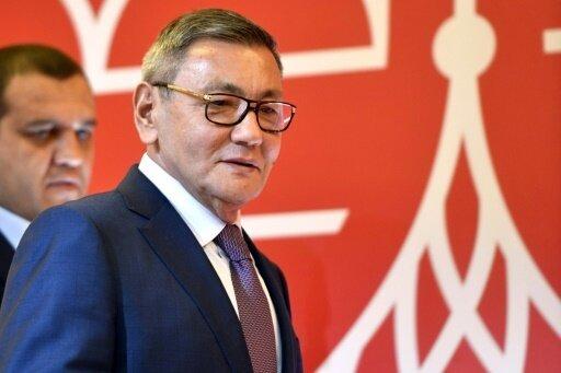 Rachimow wurde vor kurzem zum neuen Präsidenten gewählt