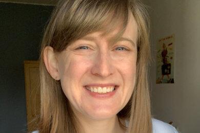 Chelsea Burris - TU-Studentin und US-Amerikanerin