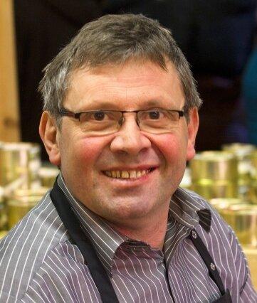 Michael Bretschneider (60), Inhaber des Familienbetriebs mit Rinderzucht und Direktvermarktung in Rothenkirchen.