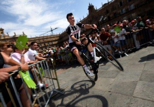 Walscheid kam beim Münsterland Giro als Erster ins Ziel