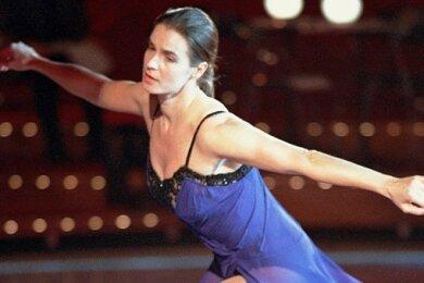 Katarina Witt - ein Weltstar aus der DDR auf dem Eis.