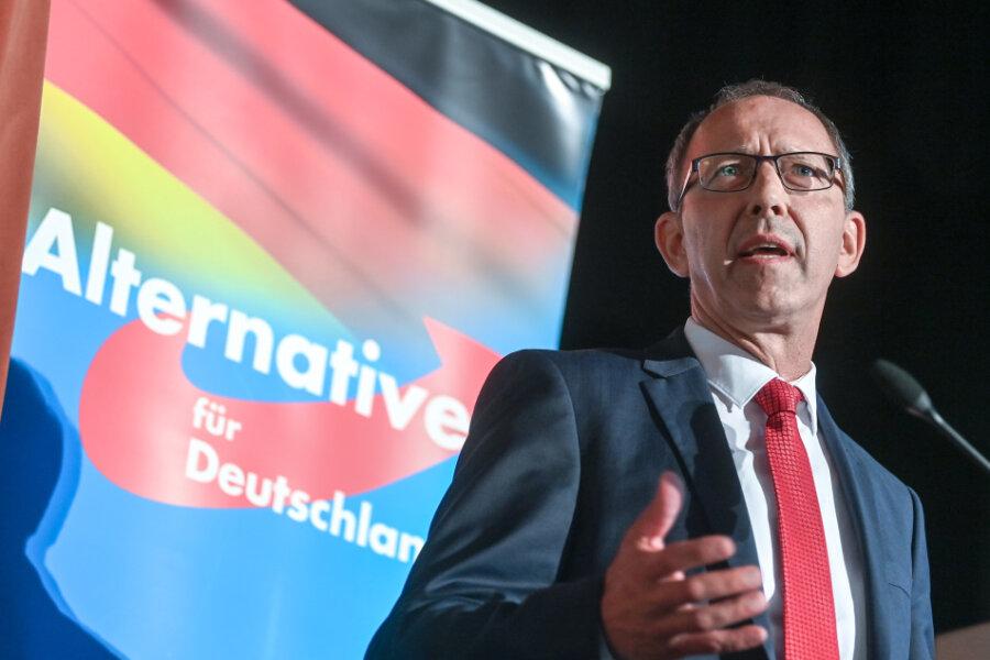 Jörg Urban, Fraktionsvorsitzender der AfD in Sachsen