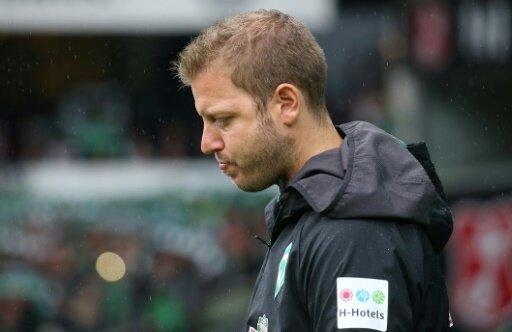Florian Kohfeldt war nach dem Unentschieden unzufrieden