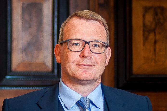 Freibergs Oberbürgermeister Sven Krüger.