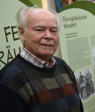 Werner Friedel (82), Meteorologe und Heimatforscher aus Taltitz.