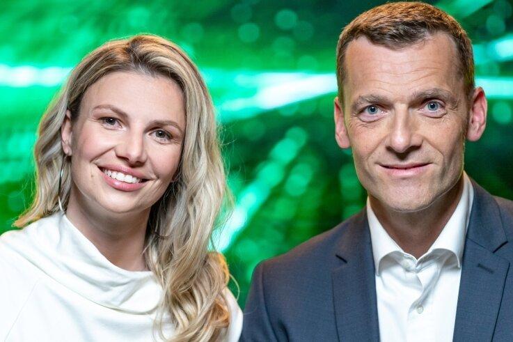 """Daniele Vogt und Michael Schüngel haben in Freiberg die Firma Quantus - Agriculture Technologies gegründet und verfolgen Ideen für """"besseres landwirtschaften""""."""