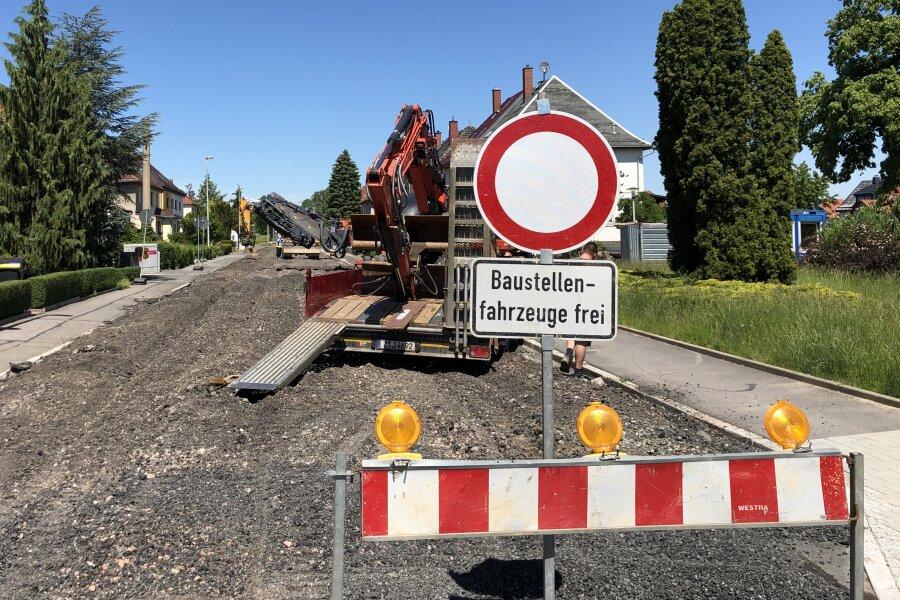 Frühlingsstraße wird weiter ausgebaut