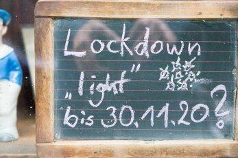 Gaststätten, Kinos, Bäder - seit Montag steht wegen des Lockdowns im Erzgebirge wieder vieles still.