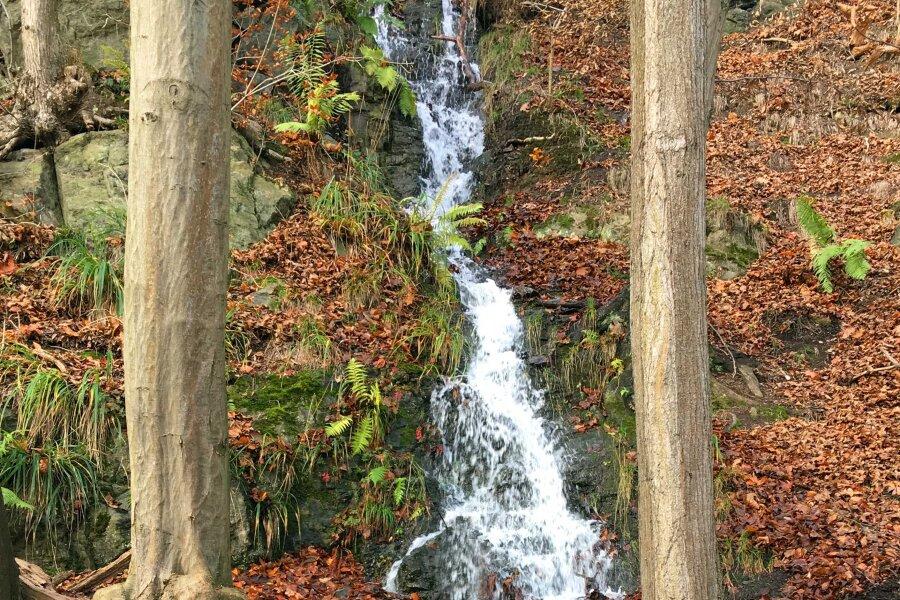 Wasserfall auf Zeit