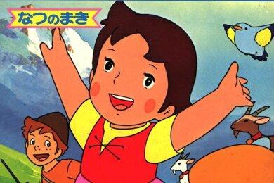"""Takahatas """"Heidi"""", 1974 herausgebracht, wurde ein Riesenerfolg in Japan und löste dort eine massive Europa-Begeisterung aus."""