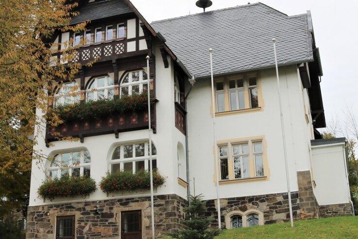 Der Keller im Rathaus Leubsdorf muss dringend saniert werden.
