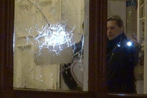 Sebastian Gemkow SebastianGemkow - Anschlag auf die Wohnung des Justizministers.