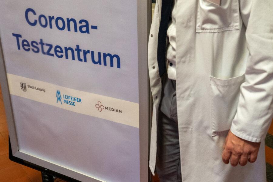 Ehrenfriedersdorf: Probelauf für zweites Corona-Testzentrum