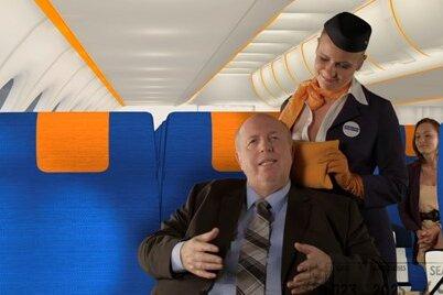 Das dicke Ende zum Schluss: Werbegesicht Reiner Calmund verspricht zwar, dass fluege.de den billigsten Flug findet. Meist kommt am Ende der Buchung aber noch ein happiger Service-Aufschlag obendrauf.